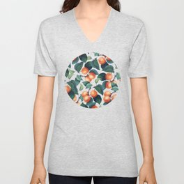 Tropical Fruit #society6 #decor #buyart Unisex V-Neck