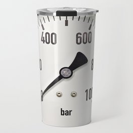 Industrial analog manometer Travel Mug