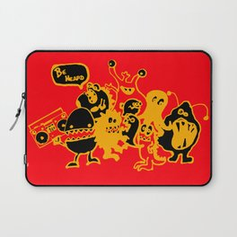 Monsters Want To Be Heard Too Laptop Sleeve