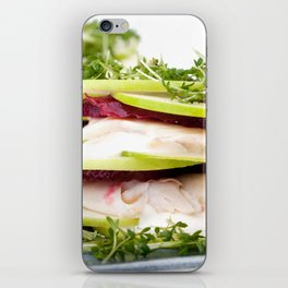 Apple and trout appetizer iPhone Skin