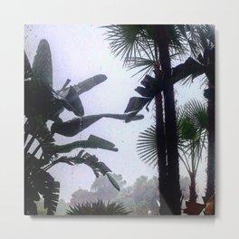 Paradise Rain II Metal Print