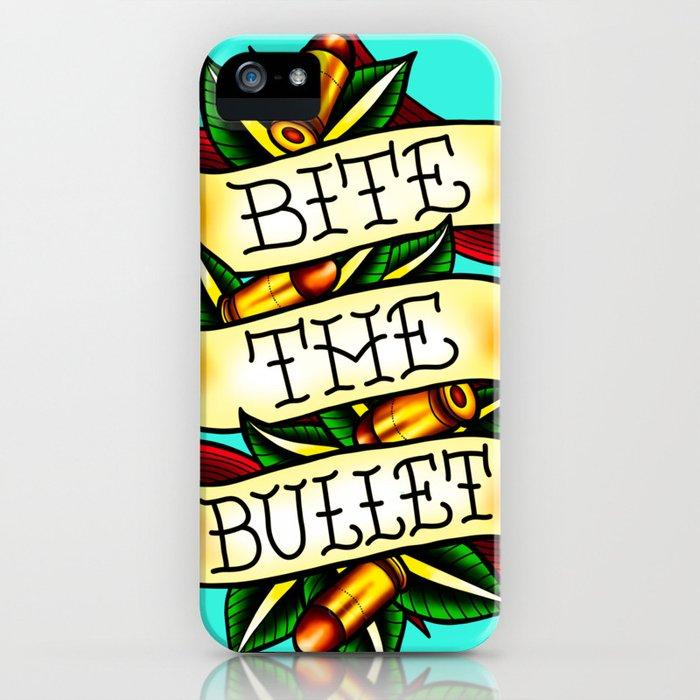 Bite the Bullet iPhone Case