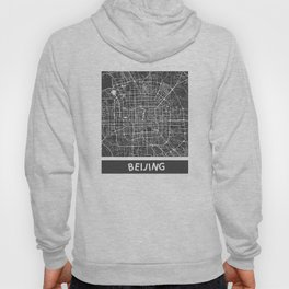 Beijing Map #1 Hoody