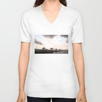 industrial V-neck T-shirts featuring industrial II. by zenitt