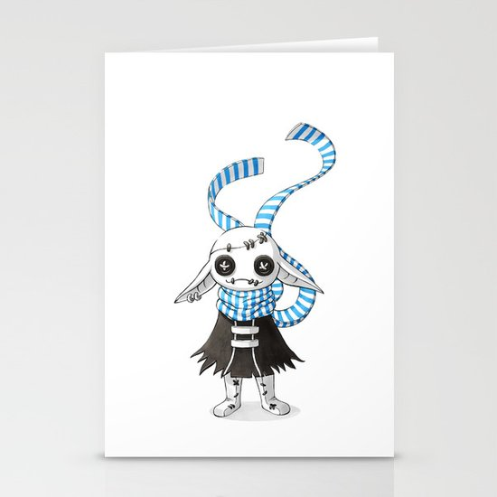Rag Doll Stationery Cards