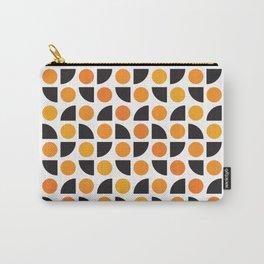 Geometric Pattern 175 (orange spots) Carry-All Pouch