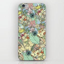 Nature Bloom Pattern iPhone Skin