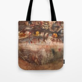 Middle of the Earth Tote Bag