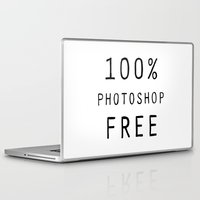text Laptop & iPad Skins featuring Text by Meredith Mackworth-Praed