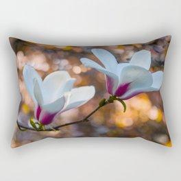 Blooming Magnolia Rectangular Pillow