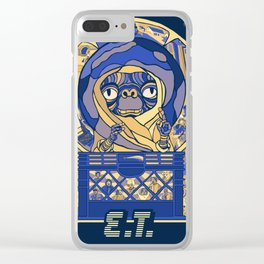 E.T PHONE HOME POSTER Clear iPhone Case