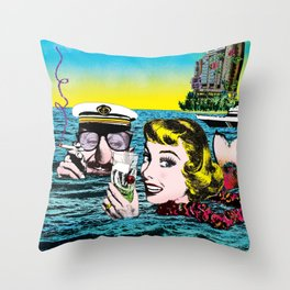 The time to think Throw Pillow
