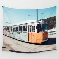 budapest Wall Tapestries featuring Budapest by Johnny Frazer