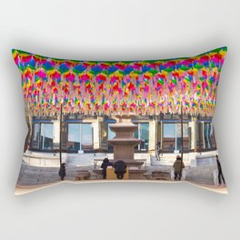 Bongeunsa Temple Rectangular Pillow