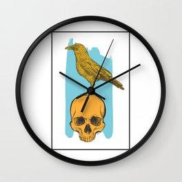 Skulls 002 Wall Clock