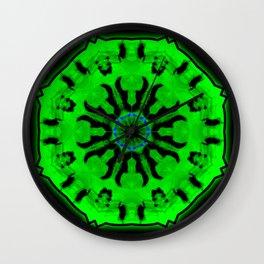 Toxic Cucumber Wall Clock