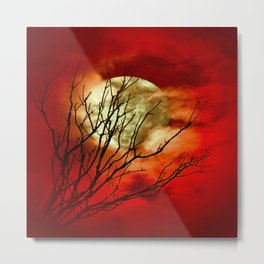 SUPERMOON - 11318/2 Metal Print