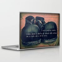 chaplin Laptop & iPad Skins featuring CHAPLIN by Ginevra