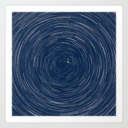 Starlapse Art Print