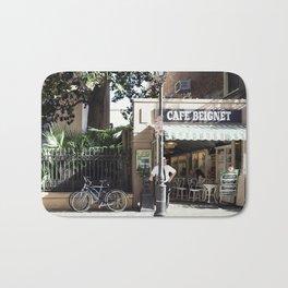 New Orleans Cafe Beignet Bath Mat