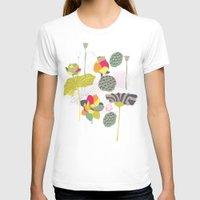 lotus T-shirts featuring Lotus by Ferntree Studio