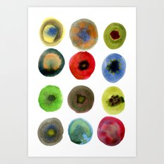 Consider the Circle 01 Art Print
