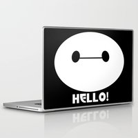 baymax Laptop & iPad Skins featuring BAYMAX by Yiji