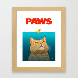 Paws! Framed Art Print