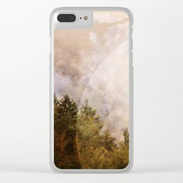 light is everywhere Clear iPhone Case