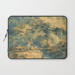 "J.M.W. Turner ""The Angler"" Laptop Sleeve"