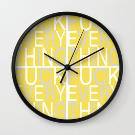 Every Thing Wall Clock