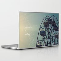 coasters Laptop & iPad Skins featuring Adventure is Waiting by RDelean