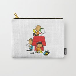 Snoopy Reading Books Carry-All Pouch