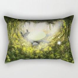 Totoro's Dream Rectangular Pillow