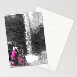 Washing At The Falls Stationery Cards