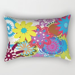 Patchwork Bohemian Rectangular Pillow
