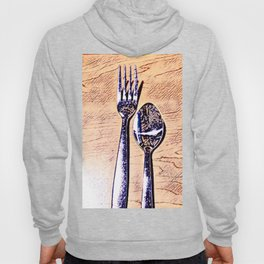 Forks and knives Hoody