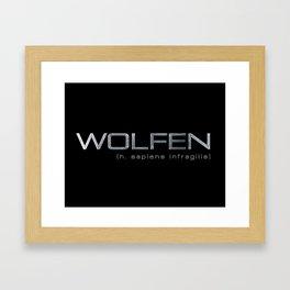 Wolfen Framed Art Print