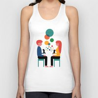 child Tank Tops featuring Soul Communication by Andy Westface