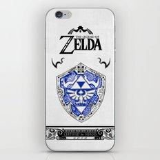 Zelda legend - Hylian shield iPhone & iPod Skin