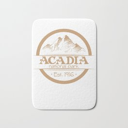 Acadia National Park 1916 Bath Mat