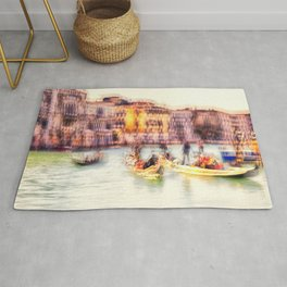 The Gold of Canal Grande Rug
