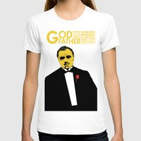 the godfather T-shirts featuring GODFATHER by miszkurka
