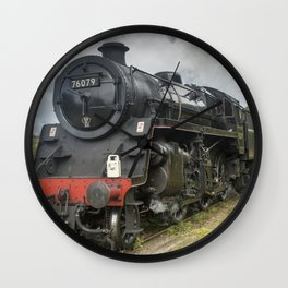 Beautiful steam train Wall Clock