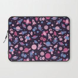 Pink Space Pattern Laptop Sleeve
