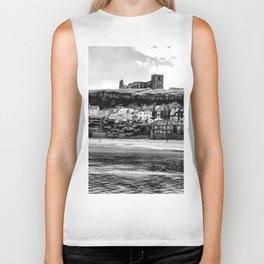Coast - Whitby Abbey and Church Biker Tank