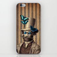 mandie manzano iPhone & iPod Skins featuring Doctor Popinjay by Eric Fan