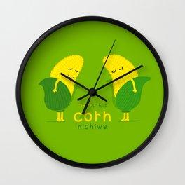Corn-Nichiwa Wall Clock