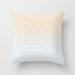 Broken Monitor Throw Pillow