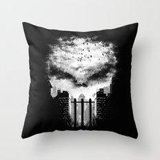 War Zone Throw Pillow
